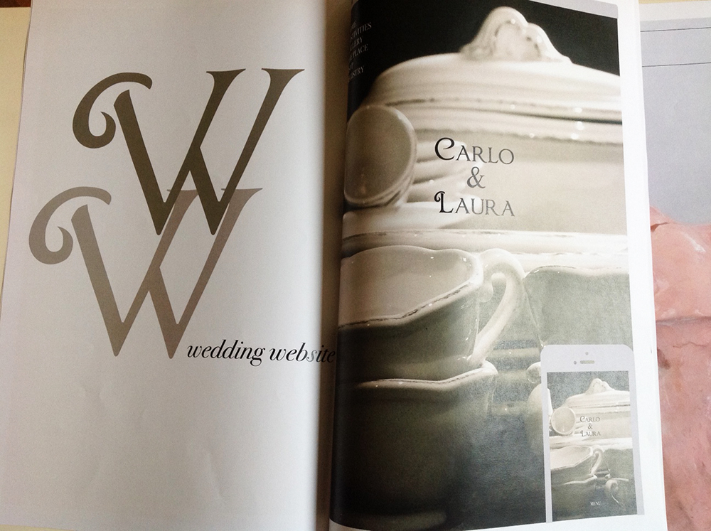MAGAZINE WE CELEBRATE WEDDING WEBSITE BARBARAVOARINO DESIGN